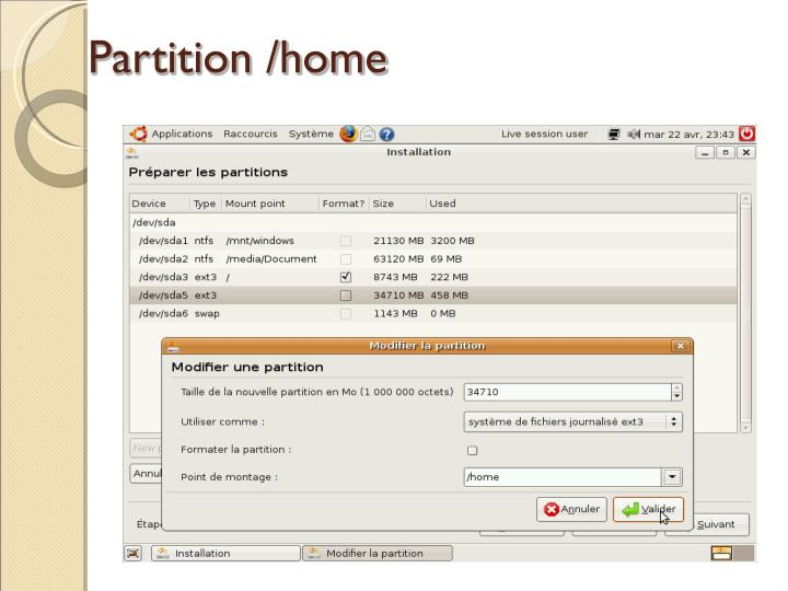 Partition /home