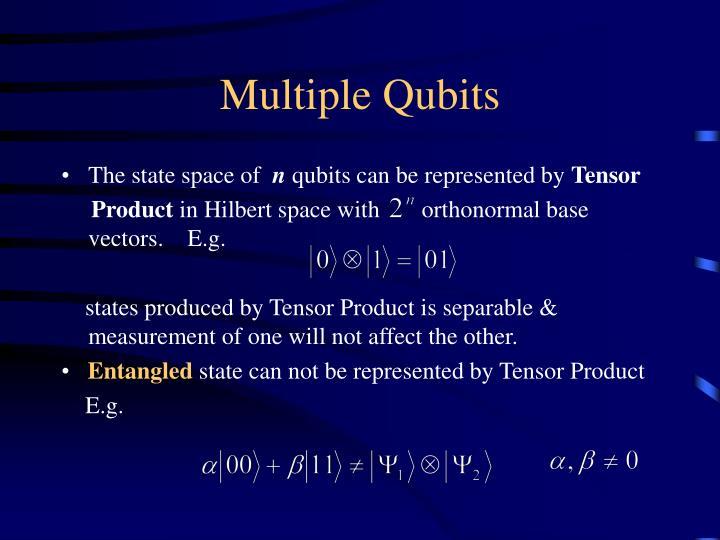 Multiple Qubits