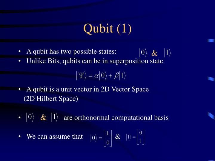 Qubit (1)