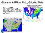 giovanni airnow pm 2 5 gridded data