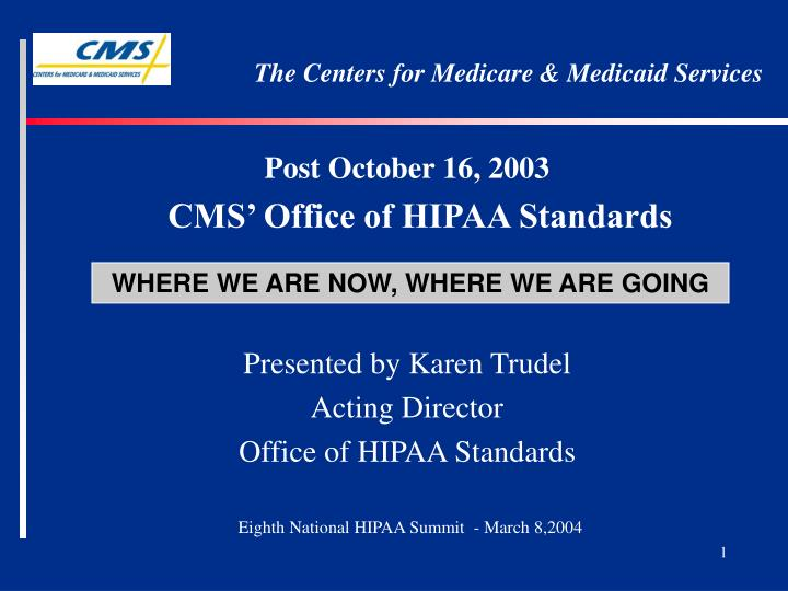 the centers for medicare medicaid services n.
