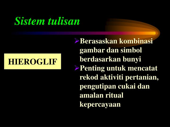 Sistem tulisan