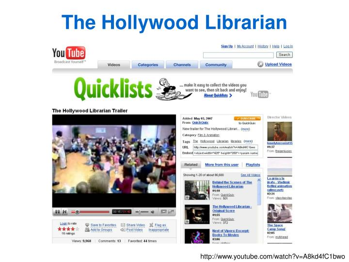 The Hollywood Librarian