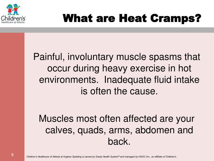 What are Heat Cramps?