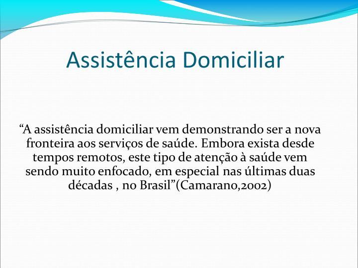 Assistência Domiciliar