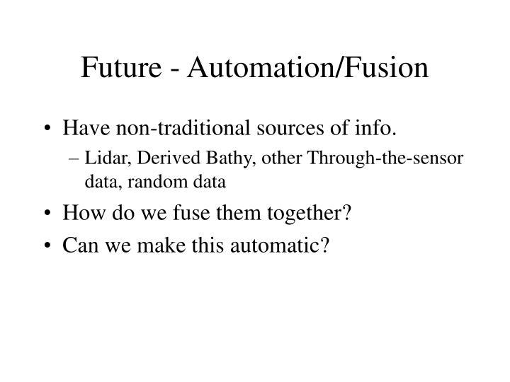 Future - Automation/Fusion
