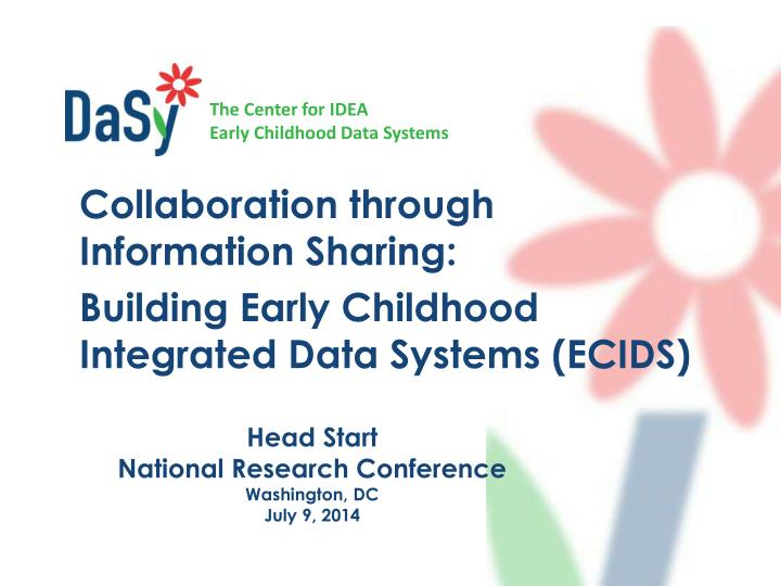 Head start national research conference washington dc july 9 2014