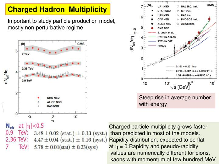 Charged Hadron  Multiplicity