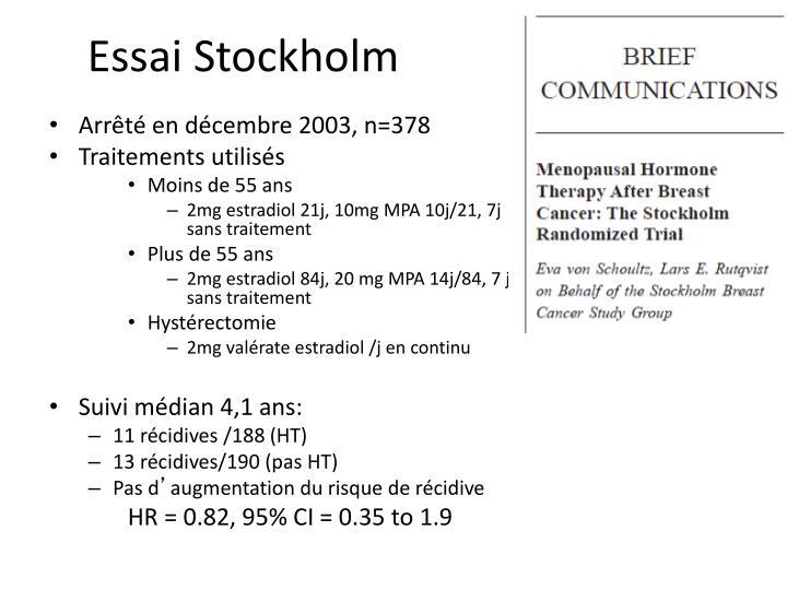 Essai Stockholm