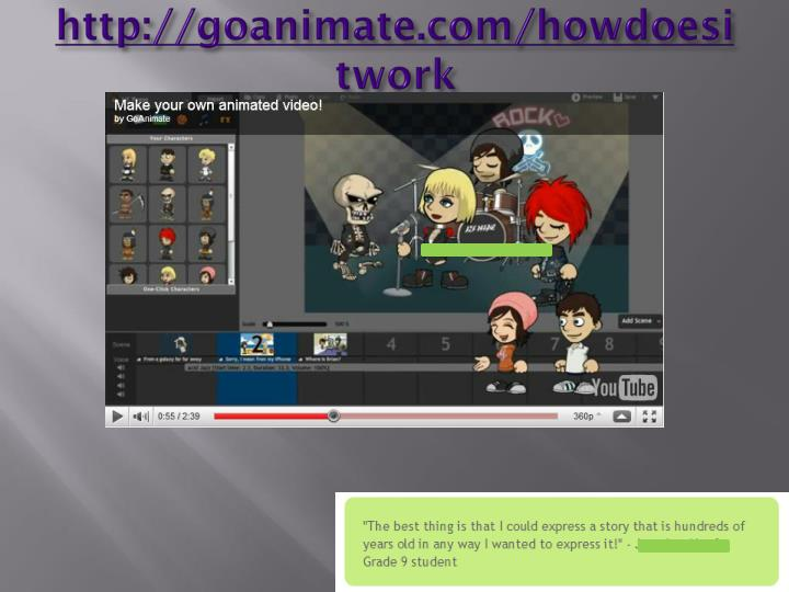http://goanimate.com/howdoesitwork
