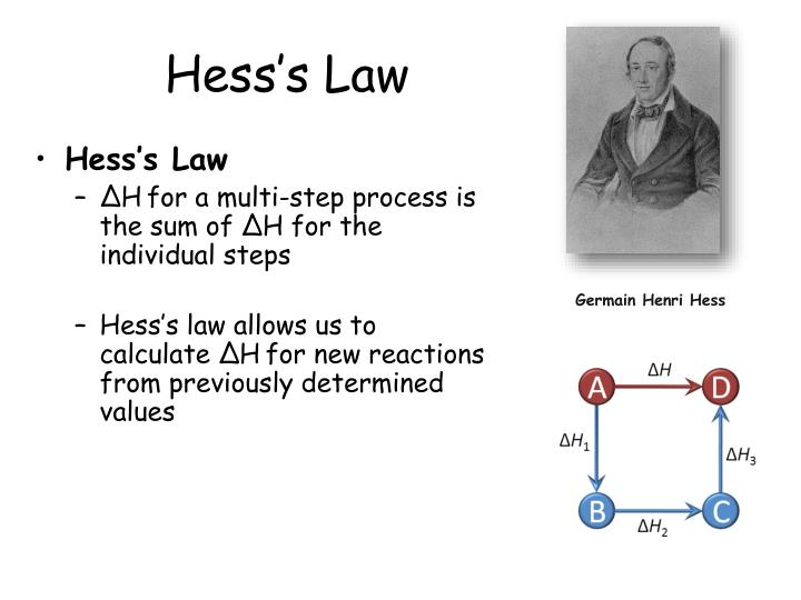 calorimetry and hesss law essay Calorimetry and hess's law: in today's lab you will measure a heat of reaction in solution, and you will use your classmates' results on different reactions to verify or refute hess's law.