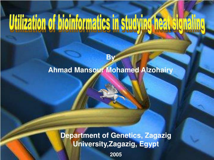 Utilization of bioinformatics in studying heat signaling