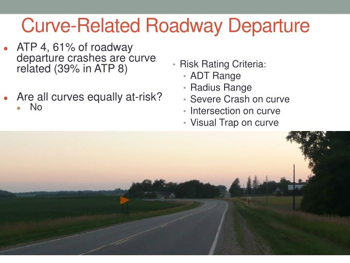 Curve-Related Roadway Departure