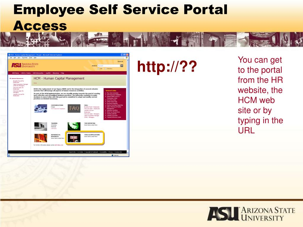 PPT - Employee Self Service PowerPoint Presentation - ID:3528283
