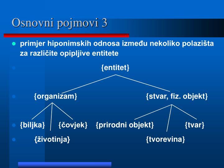 Osnovni pojmovi 3