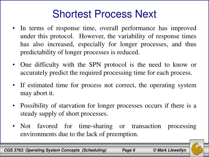 In terms of response time, overall performance has improved under this protocol.  However, the variability of response times has also increased, especially for longer processes, and thus predictability of longer processes is reduced.