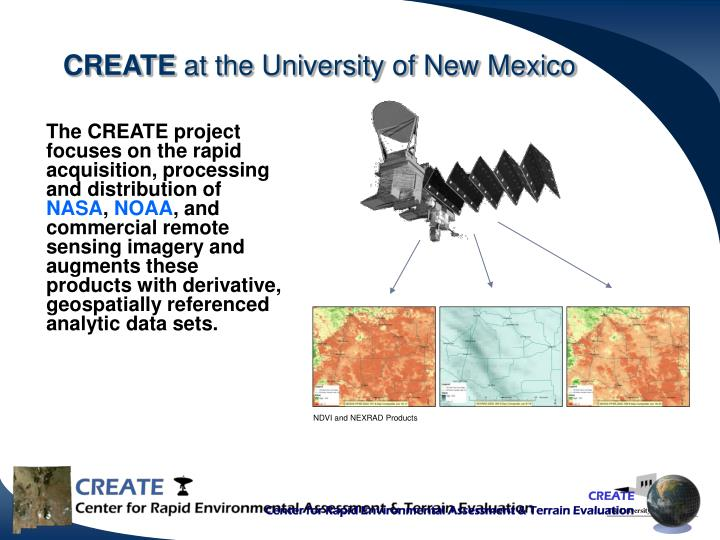 Create at the university of new mexico
