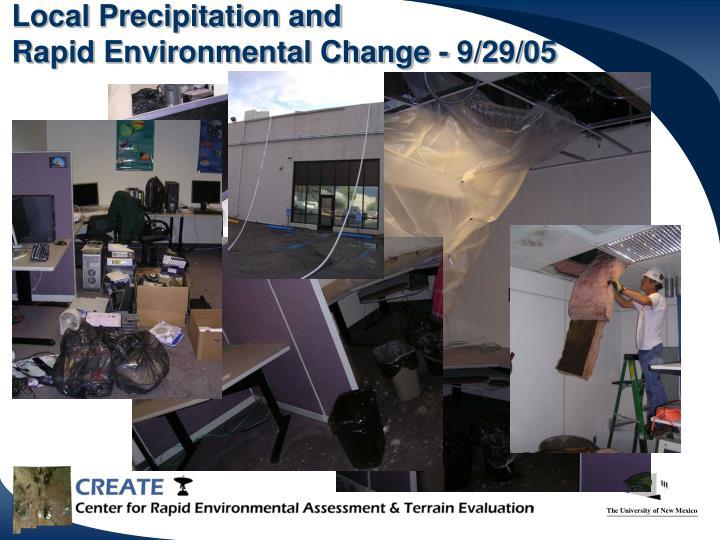 Local Precipitation and