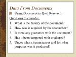 data from documents32