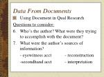 data from documents33