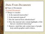 data from documents9