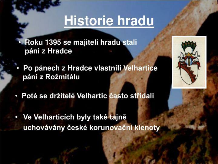 Historie hradu1