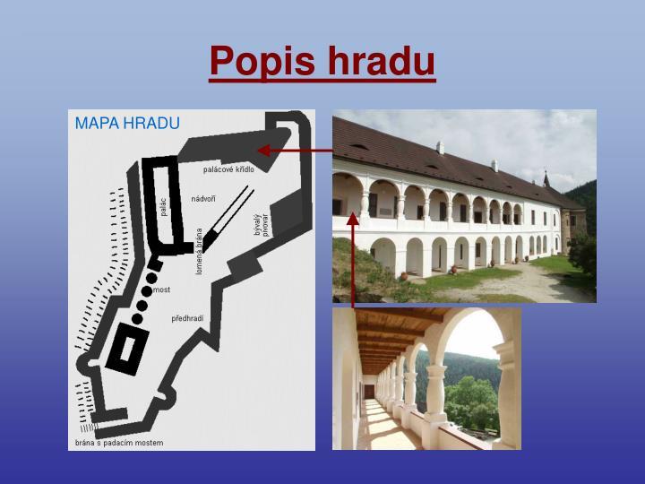 Popis hradu