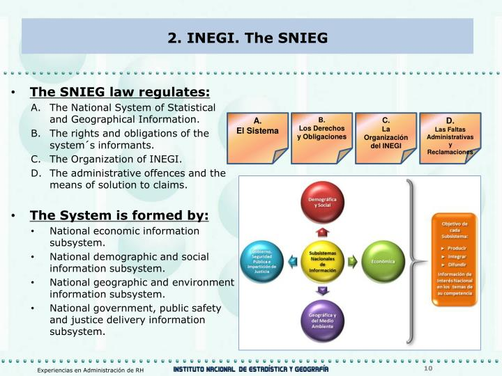 2. INEGI. The SNIEG