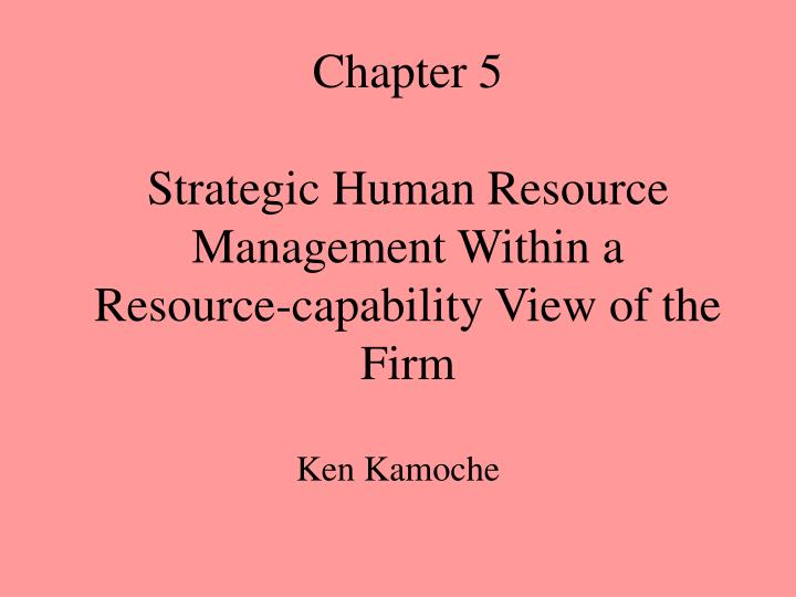strategic human resource management view pdf uploaded On hrm, there are many arguments in recent project research that stress the need of such studies the arguments can be classified according to their point of departure a top-down perspective, ie the need for the company to manage the strategic resources effectively in order to stay competitive, or a bottom-up perspective,.