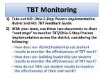 tbt monitoring