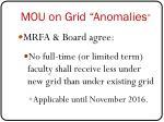 mou on grid anomalies1