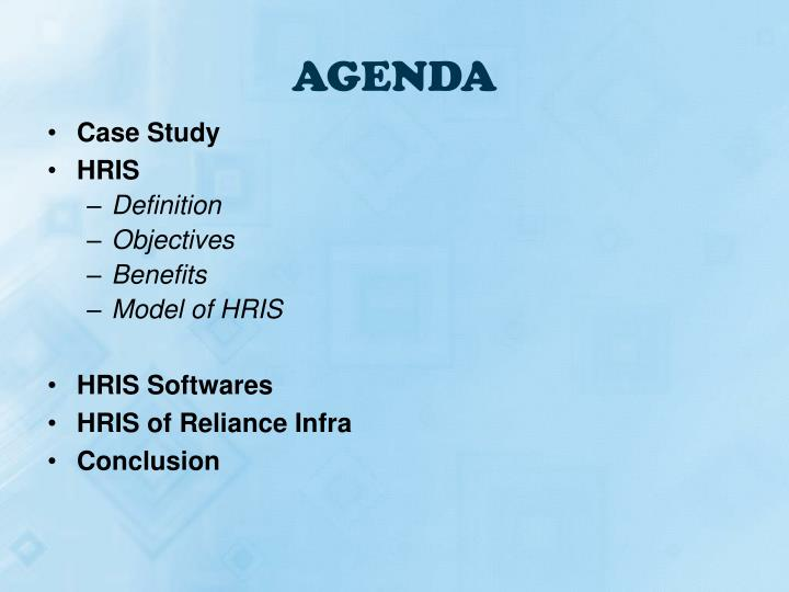 Ppt Human Resources Information System Hris Powerpoint