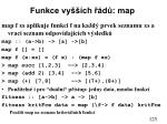 funkce vy ch d map1