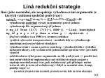 l n reduk n strategie
