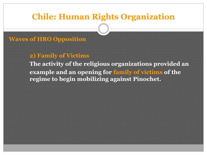 Chile: Human Rights Organization