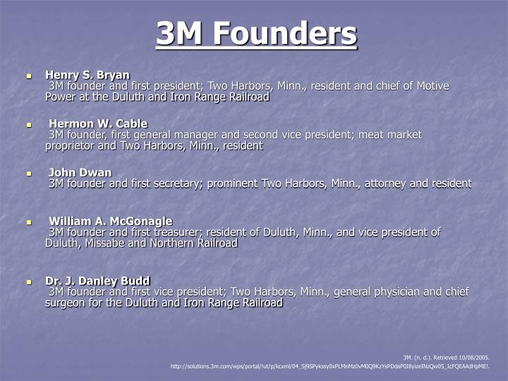 3m founders
