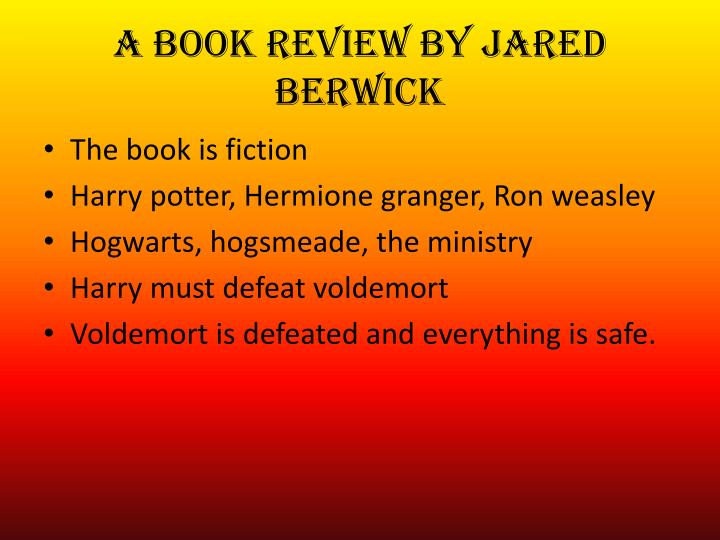 A book review by