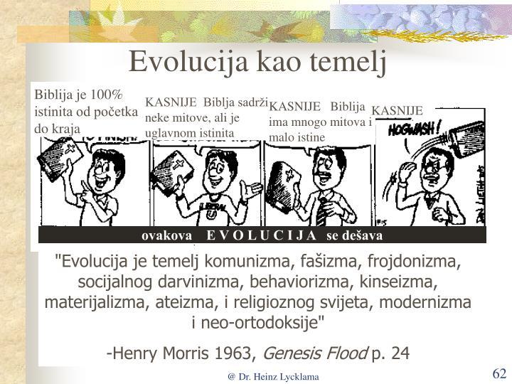 Evolucija kao temelj