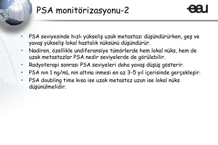 PSA monitörizasyonu-2