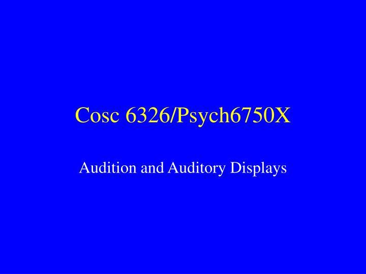 cosc 6326 psych6750x n.