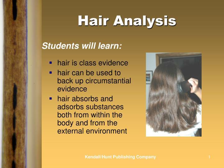 Hair analysis