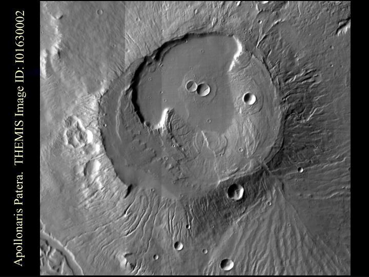 Apollonaris Patera.  THEMIS Image ID: I01630002