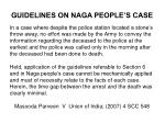 guidelines on naga people s case
