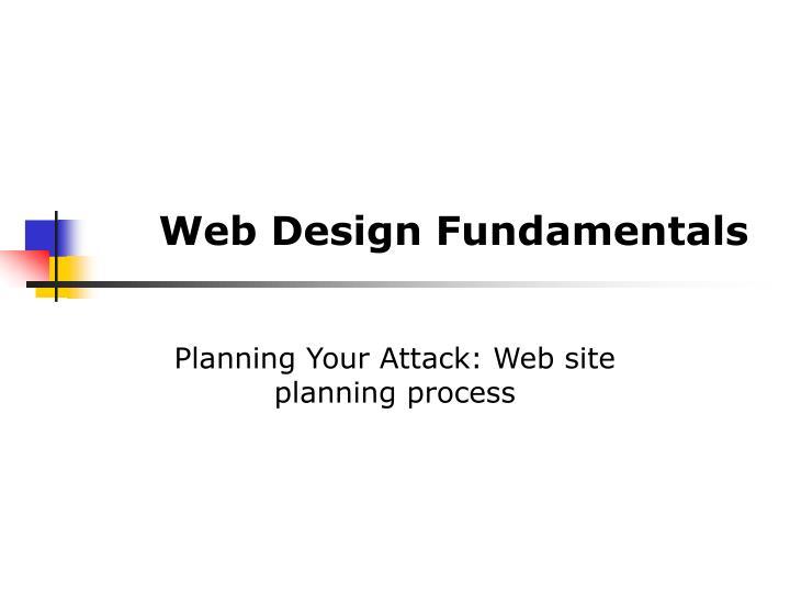web design fundamentals n.