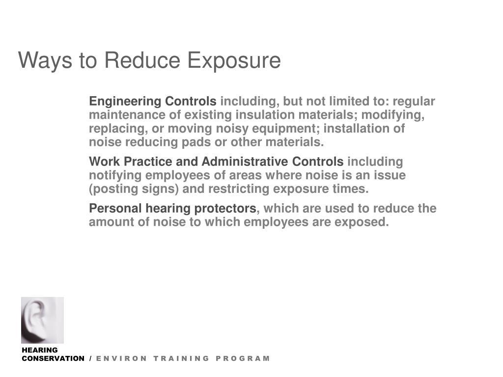 Dissertation on noise exposure