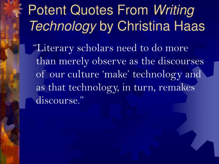 Potent Quotes From
