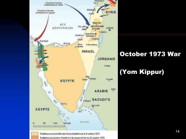 October 1973 War