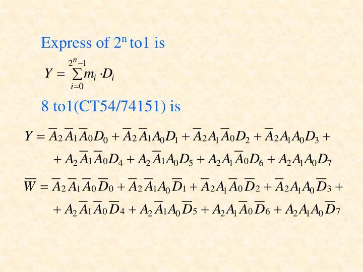 Express of 2