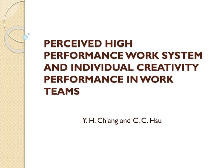 key elements of high performance work systems hpws Starbucks high performance work systems: hpws elements are selected to sbuxpr will continue to develop, train, recruit, and retain key.