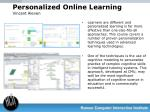 personalized online learning vincent aleven